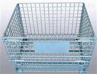 揭阳钢丝折叠式可定制仓储笼 鼎幸货架厂家
