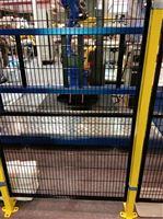 青島四方供應車間倉庫護欄網機器人防護網