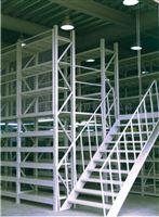 广州仓储阁楼货架组装零件解剖