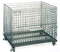 折叠式仓储笼镀锌储物箱铁丝蝴蝶笼